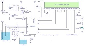 Water level controller using arduino Use Arduino for Projects