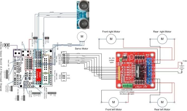 Wiring Diagram -Use Arduino For Projects