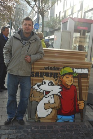 Graffiti-Künstler Marten Dalimot