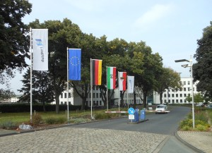 Duisport-Zentrale in Ruhrort. Foto: Petra Grünendahl.