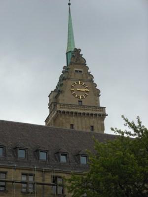 Das Rathaus am Burgplatz. Foto: Petra Grünendahl.
