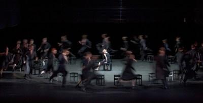 Martin Schläpfer: 7 – Anne Marchand, Ensemble © Gert Weigelt