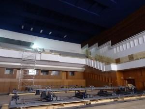 Mit gut 1 Mio. Euro kostete die Komplettsanierung des Ranges im Großen Saal. Foto: Petra Grünendahl.