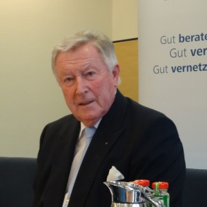 Heinz Lison, Sprecher der regionalen Wirtschaft. Foto: Petra Grünendahl.