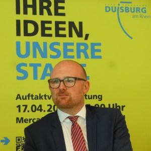 Oberbürgermeister Sören Link. Foto: Petra Grünendahl.