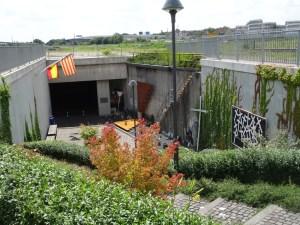 Gedenktstätte für Opfer der Loveparade 2010 in Duisburg am Alten Güterbahnhof.  Foto: Petra Grünendahl,