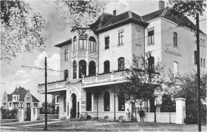 """Das """"Waldschlösschen"""" (hier 1914) war ein beliebtes Ausflugslokal, das im zweiten Weltkrieg total zerstort wurde. Foto: © Reinhold Stausberg / Sutton Verlag."""