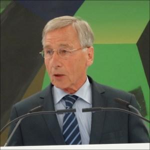 Wolfgang Clement, Ministerpräsident a. D. und Bundesminister a. D. Foto: Petra Grünendahl.