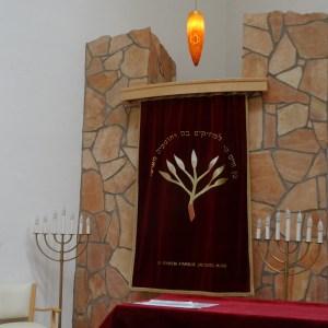 Die Synagoge im Jüdischen Gemeindezentrum. Foto: Petra Grünendahl.
