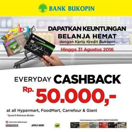 Cash Back Bukopin