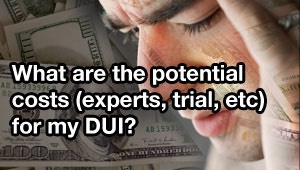 How much does a Tampa DUI cost?
