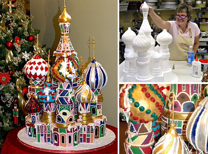 Our Russian Christmas Fantasy Dujardin Design
