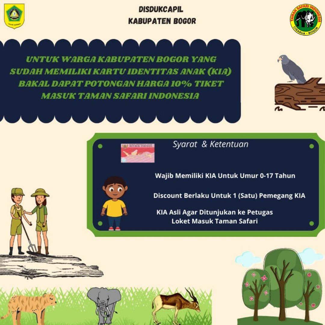 Taman Safari Indonesia berikan potongan Harga Tiket Masuk (HTM)