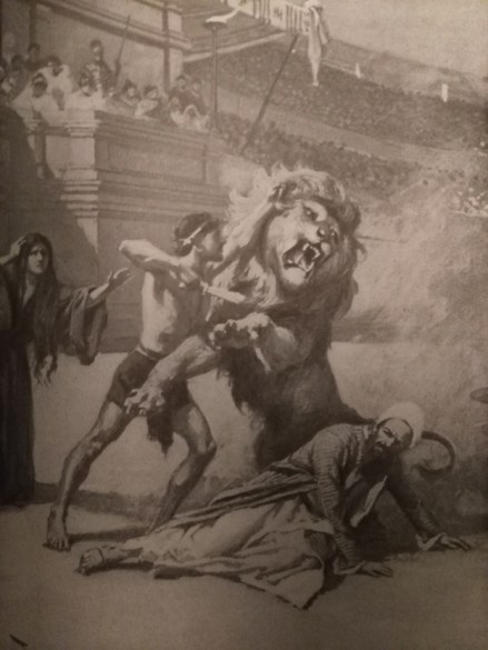 tarry thou lion attack