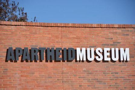 At the Apartheid Museum