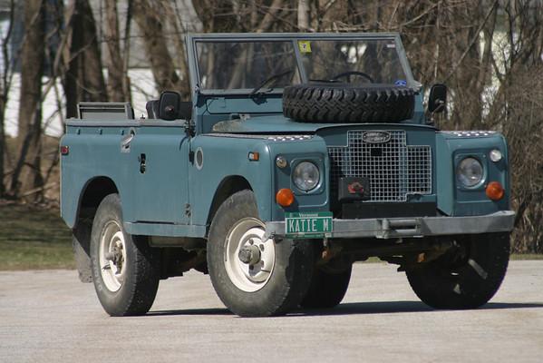 Yankee Driver: 1970 Land Rover Series IIa