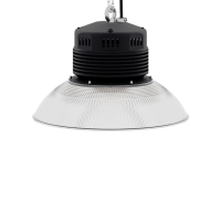 LED-LB-2003-PC-RF-PC-16IN-90D-200 Series, 120W, 150W. 16 Inch 90 Degree PC Reflector. Duke Light High Bay and Low Bay lights are engineered with rugged steel or cast aluminum housings and are damp rated for outstanding reliability in warehouses, storage facilities, retail and light industrial locations with 12 to 60 foot ceiling heights.