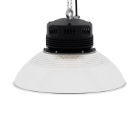 LED-LB-2002-PC-RF-PC-19IN-90D-200 Series, 80W, 100W, 120W. 19 Inch 90 Degree PC Reflector. Duke Light High Bay and Low Bay lights are engineered with rugged steel or cast aluminum housings and are damp rated for outstanding reliability in warehouses, storage facilities, retail and light industrial locations with 12 to 60 foot ceiling heights.