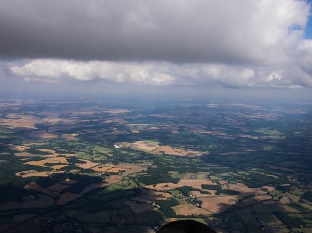 Nearing Southampton airspace