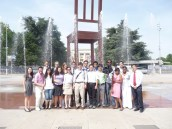 Geneva's Broken Chair Monument- Palais des Nations
