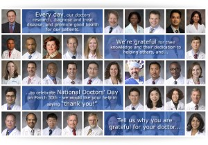 National Doctors' Day at Duke Raleigh Hospital