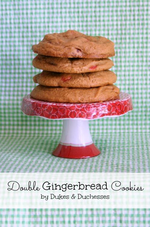 double gingerbread cookies