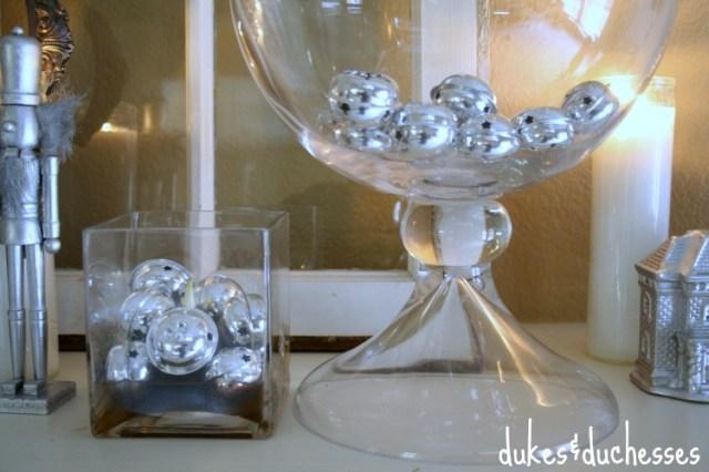 Silver Bells | #silverandgold #christmas #christmasdecor