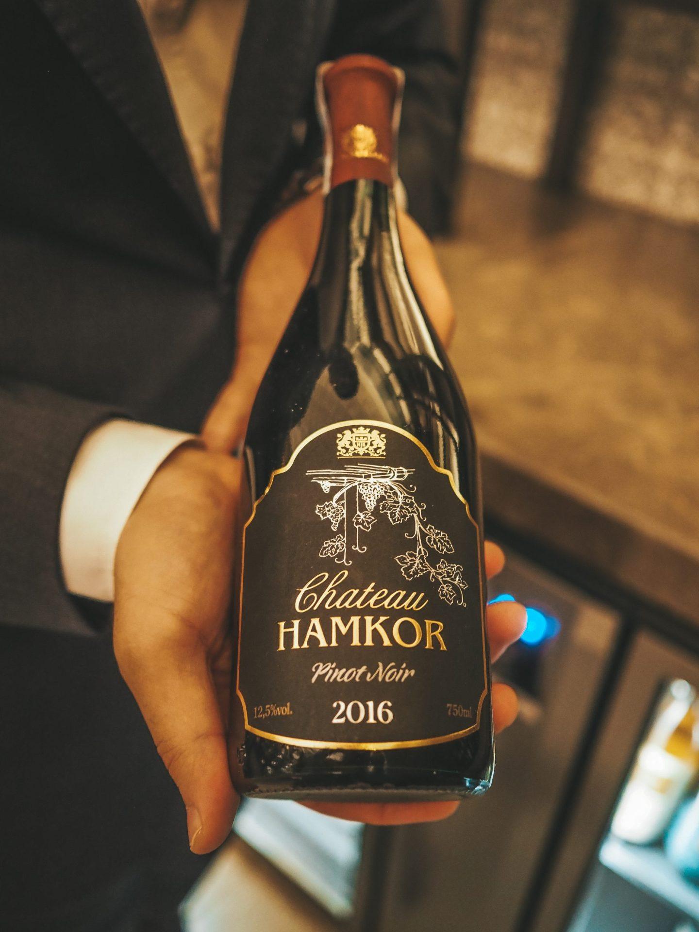 Local Uzbek Wine - Hamkor