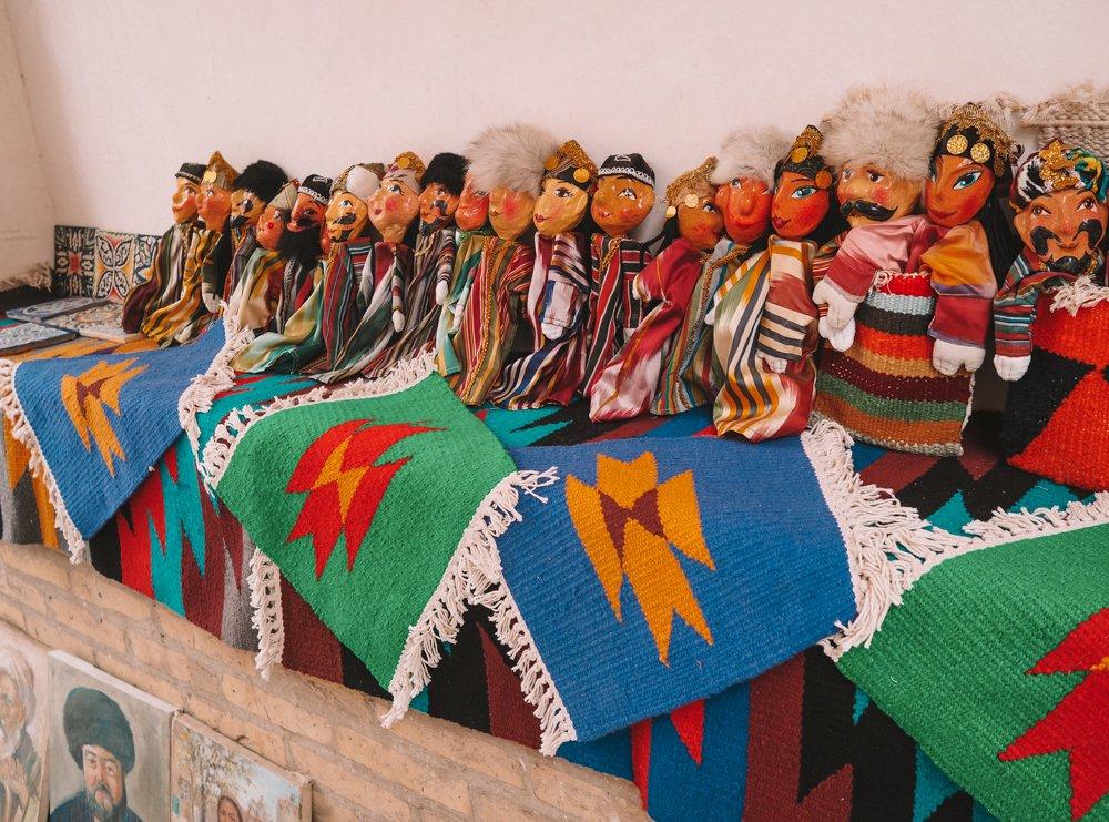 Traditional Uzbek Dolls