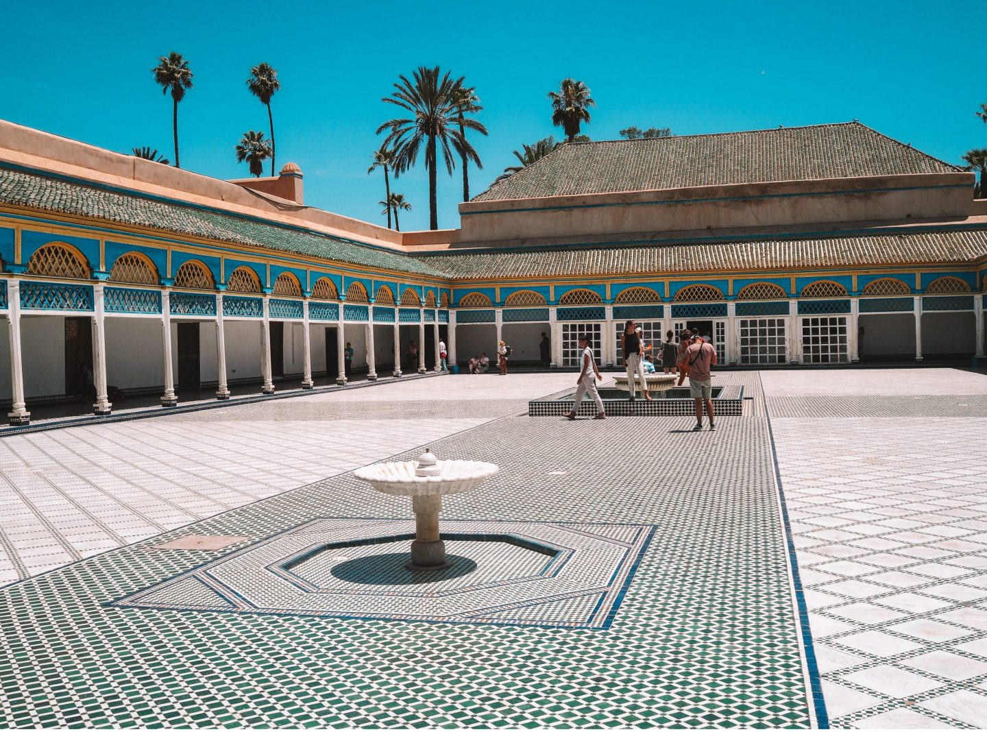 Bahia Palace - Marrakesh Itinerary