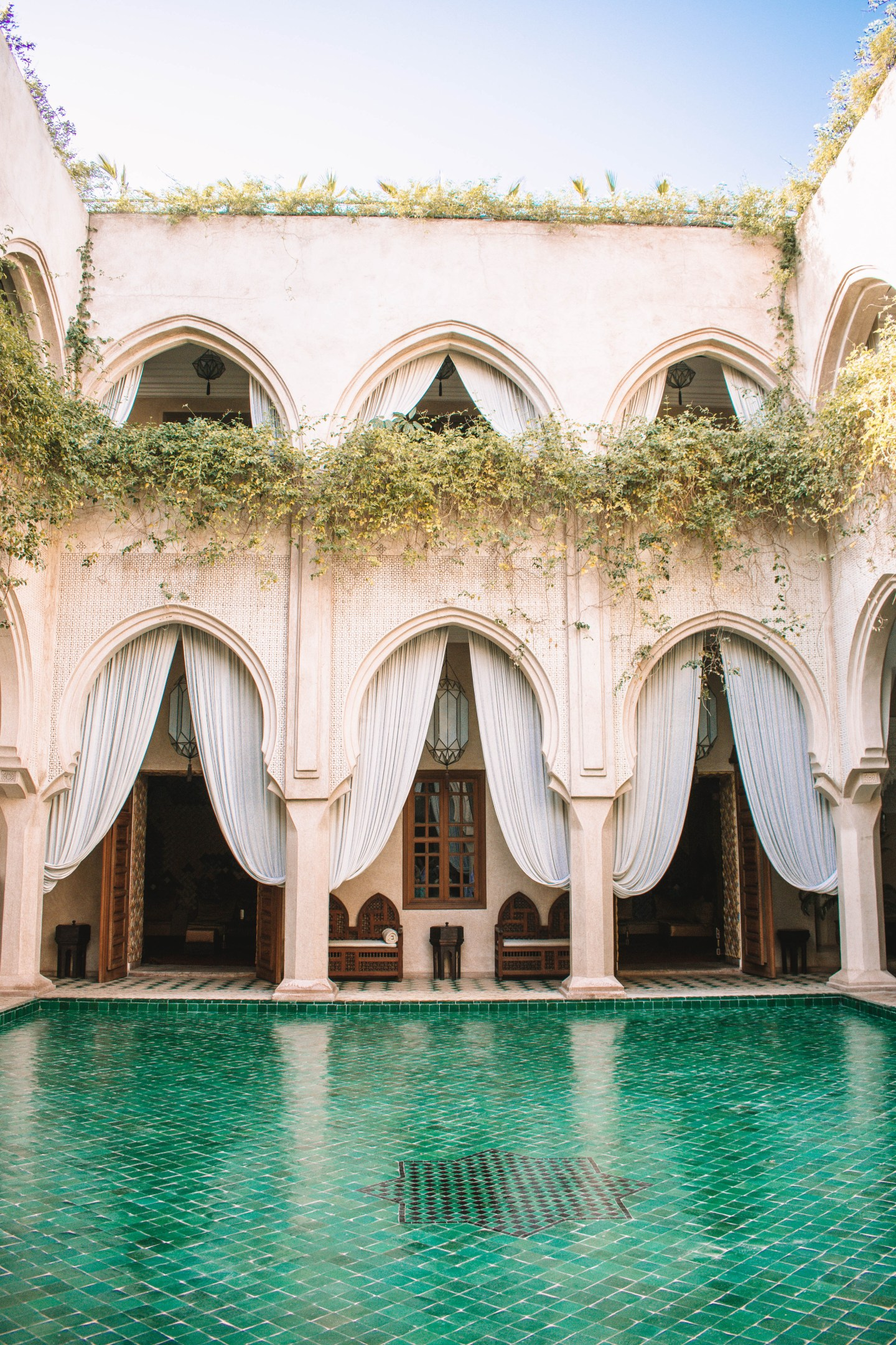 Poolside at Riad Almaha