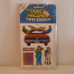 Dukes of Hazzard Puffi-Stickers #1014