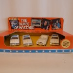 Ertl 4 Car Set - Police, Police, Caddy, Police
