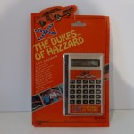 Silver LCD Calculator