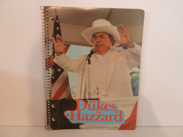 Notebook 8.5x10 - Boss Hogg