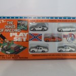 Ertl Playset - Corvette, General Lee, Caddy, 2 Patrol Cars