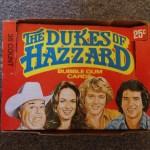 Dukes of Hazzard Bubble Gum Cards - Series 2 Box