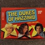 Dukes of Hazzard Bubble Gum Cards - Series 1 Box