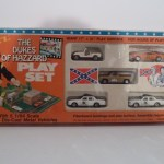 Ertl Playset - General Lee, Cooter's Pickup, Dixie, 2Patrol Cars