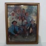 Dukes Cast Framed Picture (no flag)
