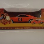 1/18 Blue Tomy General Lee White Lightning
