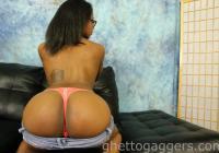 Jaime shows of her big ass