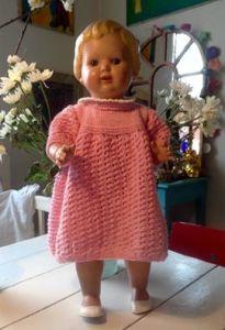 Her er Anna Kuhlmanns søde udgave af kjolen!