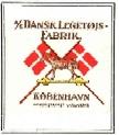 I 1916 fik legetøjet deres logo, med det nye navn!