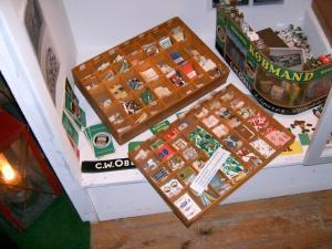 Olivers samling fra Keike, vist nok fundet på loftet over en gammel legtøjsforretning.