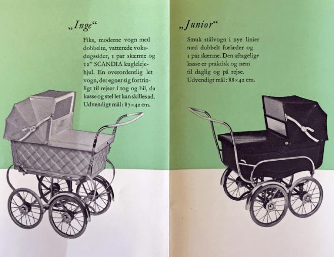Scandias første katalog 1952.