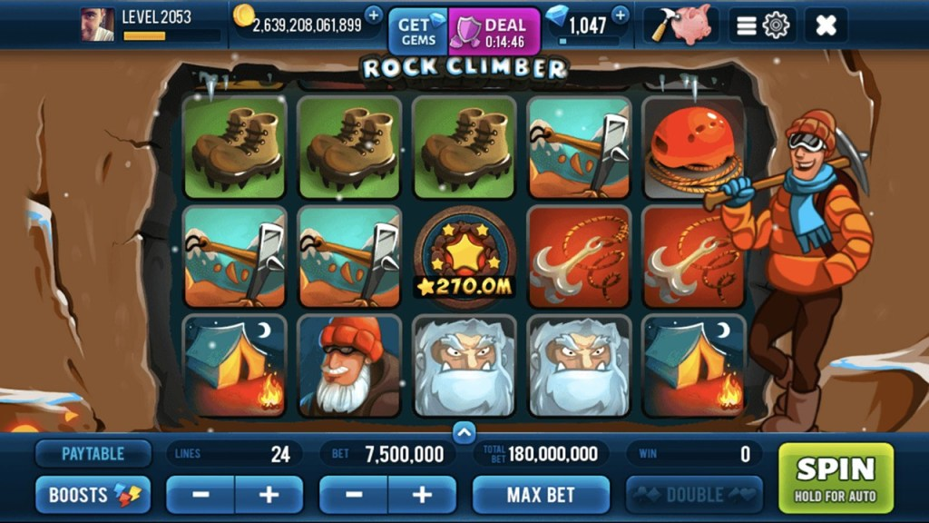Rock Climber Slots 6