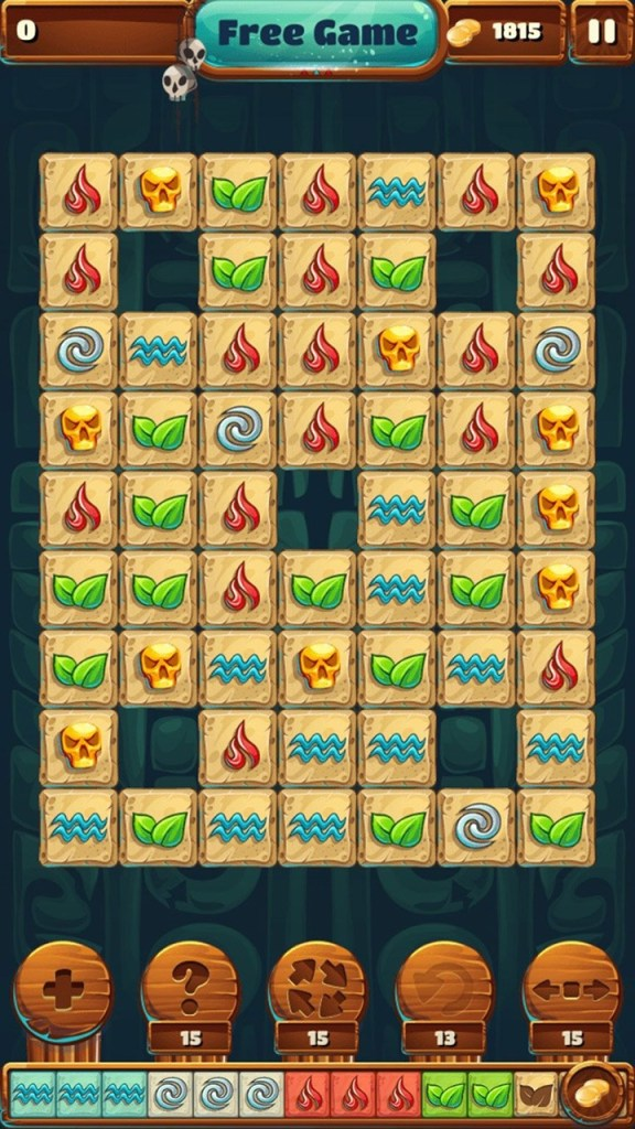 5 Elements: Match 2 Puzzle Screen 1