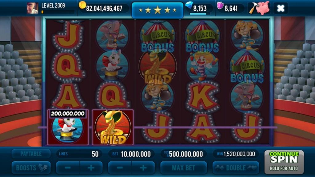 Miracle Circus Slots Screen #1