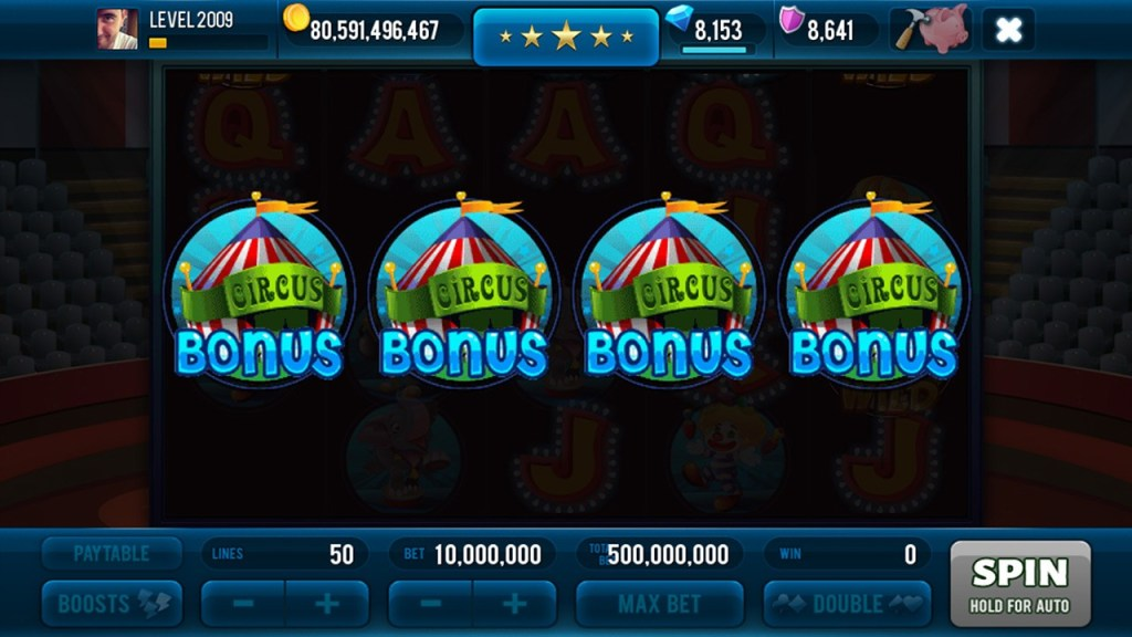 Miracle Circus Slots Screen #3